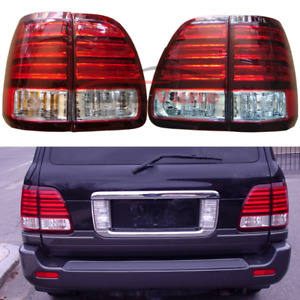 2pc Car Rear Left Right Led Tail Lights Lamps Assembly For Lexus Lx470 2003 2007