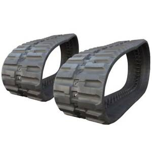 Pair Of Prowler Case 445ct C lug Tread Rubber Tracks 450x86x55 18