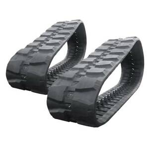 Pair Of Prowler Takeuchi Tl150 Rd Tread Rubber Tracks 450x100x50 18