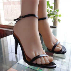 Silicone Foot Mannequin Foot Model Shoes Display Normalcolor New 38 A392