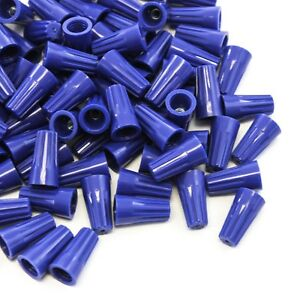 5000 Pcs Blue Screw On Wire Electrical Connectors Twist on Easy Screw Pack