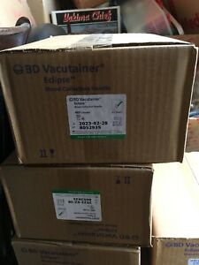 New Sealed Bd Vacutainer Eclipse Blood Collection Needle 21g 368607 48 box
