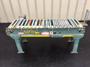 Hytrol 16 Inch Wide X 60 Inch Long Powered Live Roller Case Conveyor Box