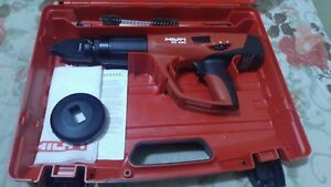 Hilti Dx 460 Powder Actuated Fastening Tool W X 460 f8 Attachment Used