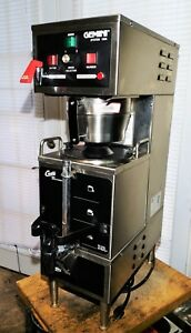 Curtis Gem 120a 26 Gemini Commercial Coffee Maker Brewer Mfr Date 2008