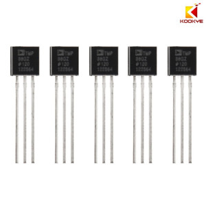 5pc Temperature Sensors Tmp36 Precision Linear Analog Output Parts For Arduino