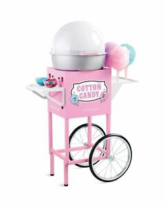 Nostalgia Ccm600 Vintage Commercial Cotton Candy Cart 50 Inches Tall