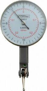 Fowler 0 02 Inch Range 0 0005 Inch Dial Graduation Horizontal Dial Test Ind