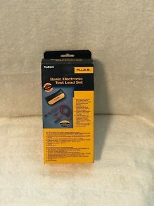 Fluke Tl80a Basic Electronic Test Lead Kit Probe Alligator Clips Tip Extender
