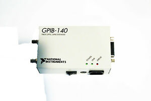 usa National Instruments Ni Gpib 140 Fiber optic Gpib Bus Extender