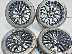 19x9 19x9 5 Ford Mustang Gt Oem 19 Rims Wheels Tires Factory Set 4 10036 10038
