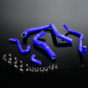Silicone Radiator Hose Pipe Kit Blue For Honda Acura Integra Dc2 Db6 db8 B18c