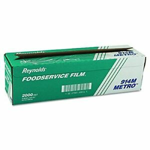 Reynolds 2000 Length Metro Line Pvc Food Wrap Film