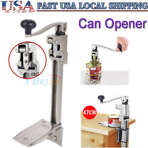 13 Large Heavy duty Commercial Kitchen Restaurant Food Big Can Opener Table Us
