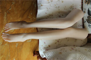 Long Female Foot Mannequin Silicone Foot Model Shoes Display 37 9kg