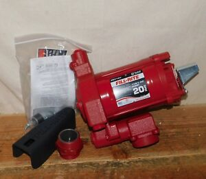 Fill rite Fr710vn Fuel Transfer Pump 1 3 Hp Cast Iron Rotary Vane