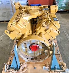 Cat 3208 Diesel Motor Completely Remanufactured Model 3208 Na 62w71437