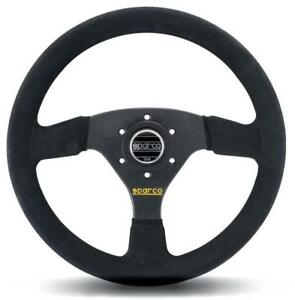 Sparco Racing Steering Wheel R323 Suede Black 330mm