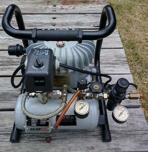 Jun air Compressor Model 3 1 5 Air Compressor Silent 120psi 120v