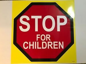 Ice Cream Truck Sticker stop For Children Sign