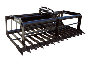 Skeleton Grapple Skid Steer Loader Attachment