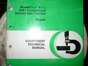 John Deere Technical Manual For Powertech 8 1 6081 Compressed Natural Gas Engine