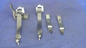 2010 2011 2012 Ford Mustang Gt Rear Seat Belts Pair Left Right Convertible Set