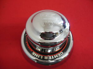Center Line Wheel Center Cap Chrome 9 Outside Diameter X 5 3 8 Deep New