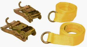 2 Wheel Lift Straps With Ratchets Century Tow Truck Strap Lasso Straps