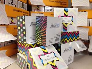 New Sticky Notes Cube 3x3 400 Sheets Adhesive