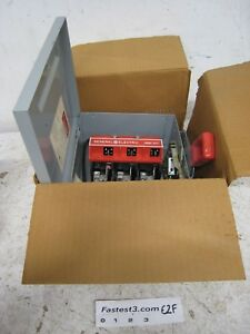 Ge Thn2261dc 30 Amp 600v Non Fused Single Phase Disconnect Switch