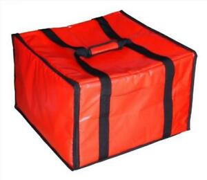 New Star 50134 Insulated Pizza Delivery Bag 20 By 19 13 2 inch Red