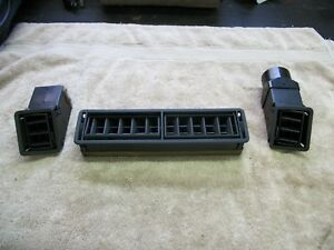 Porsche 944 924 Dash Vents Black 1983 To 1985