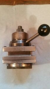 Hardinge 3 8 Inch Turret Toolpost Price Is Reduced For Labor Day