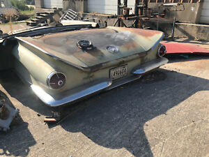 1960 Buick Lasabre Complete Rear Clip Car Furniture Couch Rare
