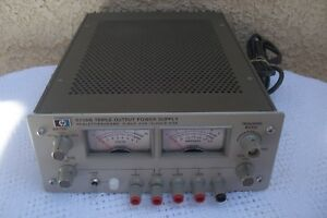 Hp 6236b Triple Output Power Supply Hewlett Packard Working Ready For Use