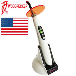 Usa Woodpecker 100 Original Dental Led Wireless Curing Light Lamp Led B Fda ce