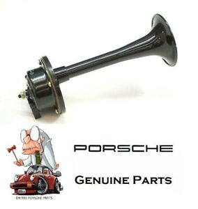 Porsche 911 928 930 Genuine Low Tone Horn 91163510221 911 635 102 21