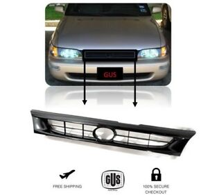 For Toyota Corolla 93 97 Front Grille Black Jdm Grill Factory Style 19993 1997