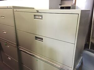 2dr 42 w X 19 w X 28 h Lateral File Cabinet By Hon Office Furniture W Lock