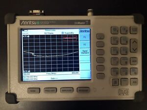 Anritsu Site Master S331d Cable antenna Analyzer Color Screen
