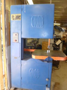 Grob 24 Inch Vertical Band Saw