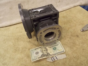 Motovario Worm Gear 13 1 Ratio Speed Reducer Gearbox 5 8 In 1 0 Out New