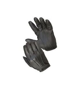 Hatch Gloves Sb4000 Friskmaster Max Duty Police Glove Pair Black Small