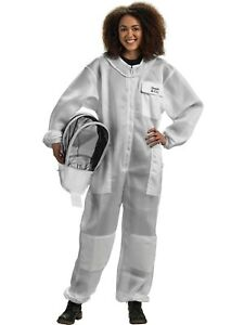Bees Co U84 Ultralight Beekeeper Suit With Fencing Veil large