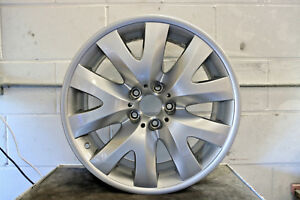 1 Brand New Genuine Bmw 7 Series 19 V Spoke Alloy Wheel Style 126 Borbet 9j E65