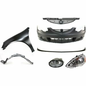 New Kit Auto Body Repair Front Acura Rsx 2002 2004