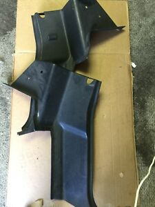 1994 1997 Mazda Miata Interior Quarter Trim Set Pair Panel Black Oem Seat Belt