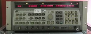 Agilent Hp 8341b Synthesized Sweep Signal Generator 10mhz To 20ghz
