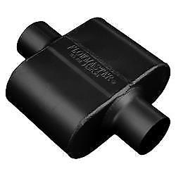 Flowmaster 9430109 Muffler 10 Delta Force Series 3in Inlet 3in Outlet